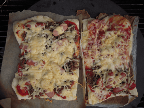 Pizza på Weber grill