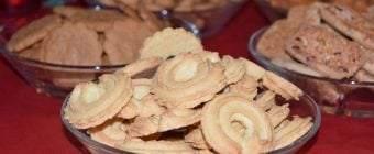 Lækre sprøde vaniljekranse med julehygge