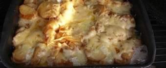Flødebagte kartofler uden fløde – med hvidløg – på Weber grill