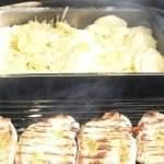 Flødekartofler - evt. uden fløde - på Weber grill