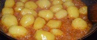 Brunede kartofler – bedstemors opskrift på brunede sukkerkartofler