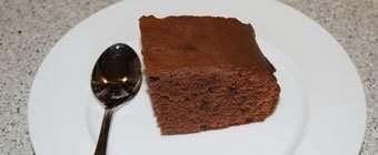 Chokoladekage uden æg