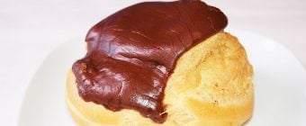Gammeldags fastelavnsboller med chokoladeglasur