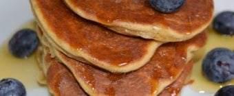Amerikanske brunch pandekager